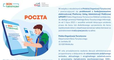 Problemy z Polskim Bonem Turystycznym. Gdzie składać wniosek o przyznanie bonu?