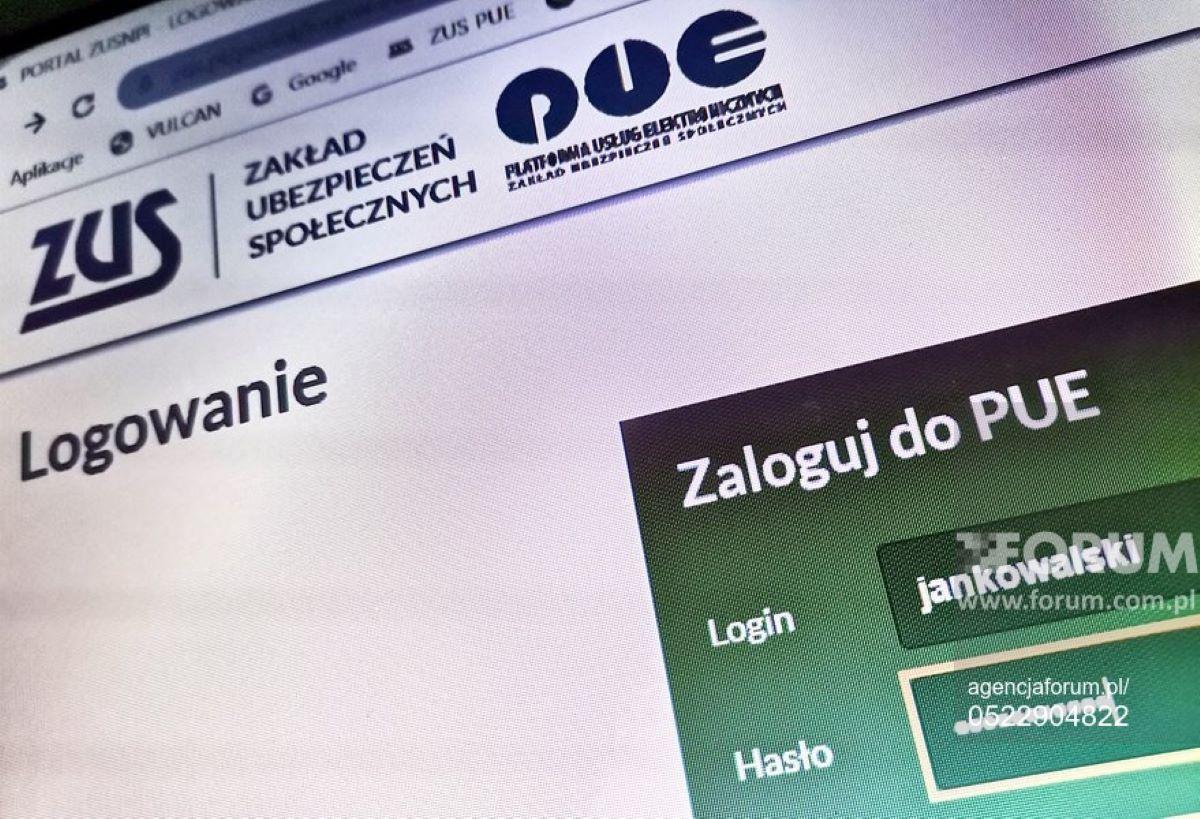 Ograniczenia w wysyłce Z-3 przez PUE