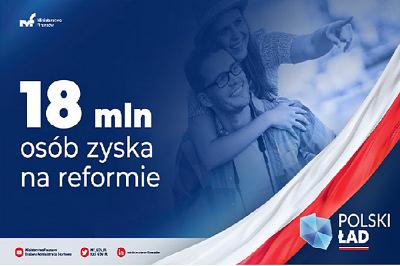Polski Ład: jest projekt ustawy MF. Zyska 18 mln Polaków