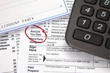 strata podatkowa