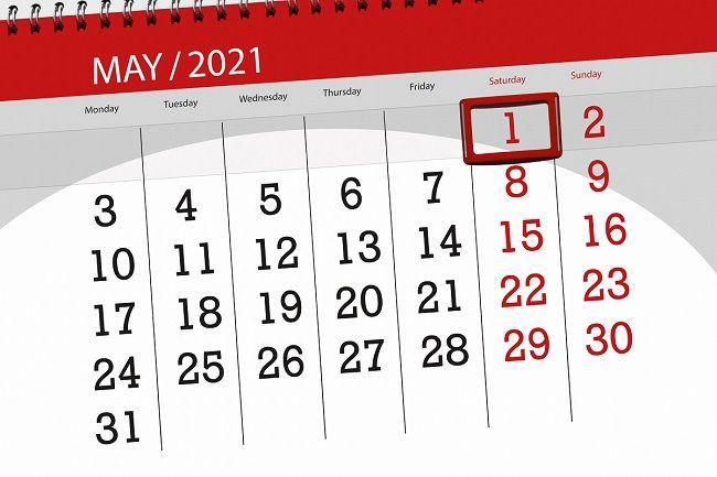 dzień wolny za 1 maja 2021 r.