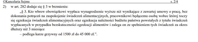zmiana art.282 kp