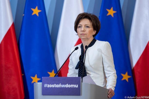 Co oznacza zawieszenie zatrudnienia wspomniane przez minister pracy  Marlenę Maląg?