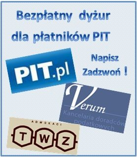 Dyżur podatkowy dla płatników podatku PIT