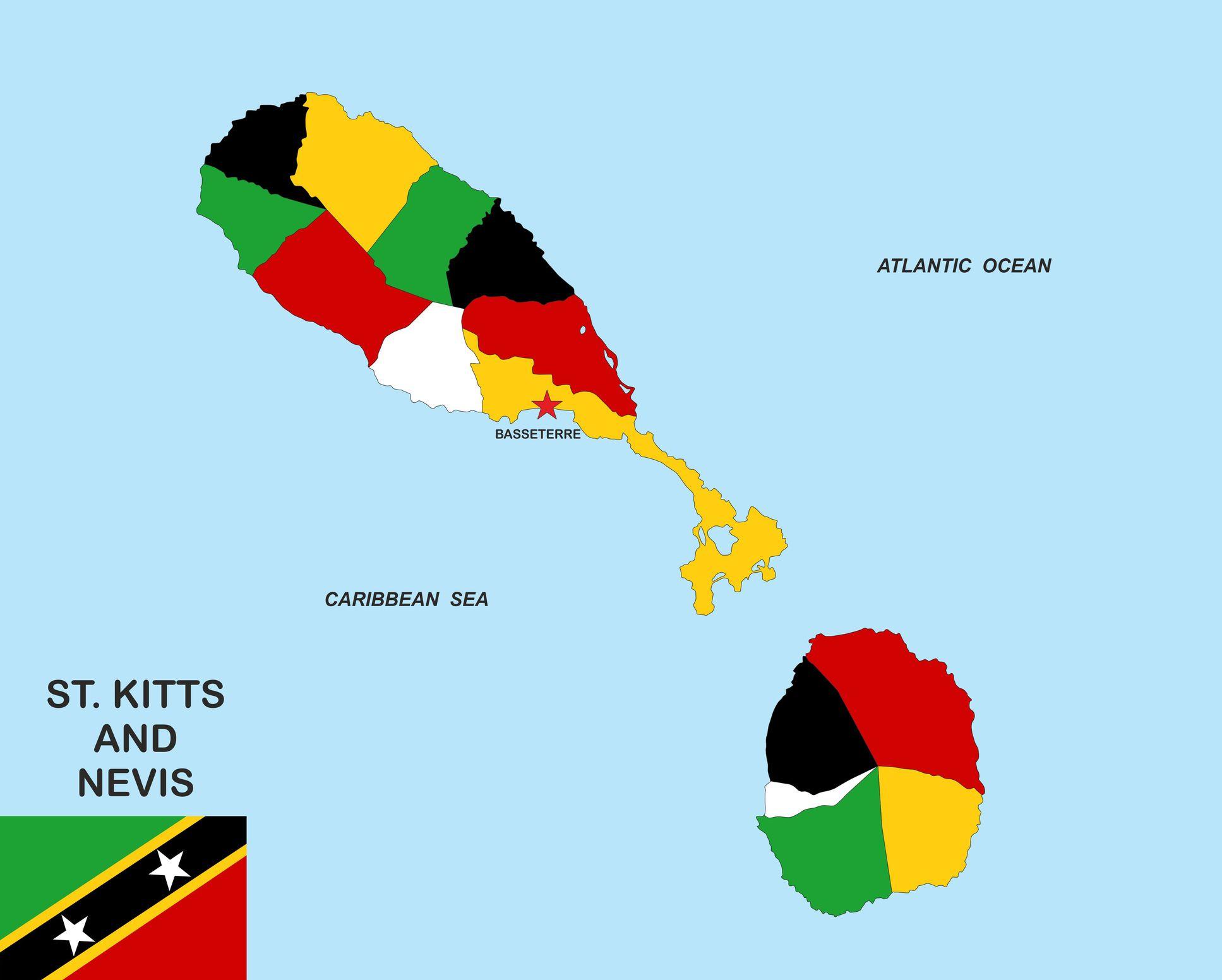 Optymalne wakacje w raju: Federacja Saint Kitts i Nevis