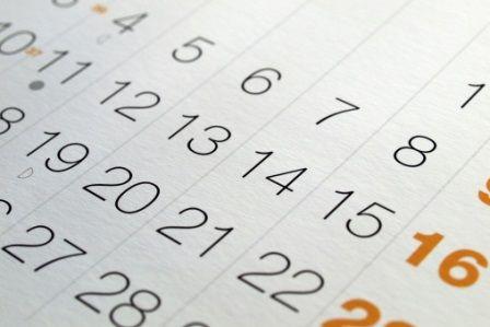 Zasady przesuwania terminów w 2015 roku