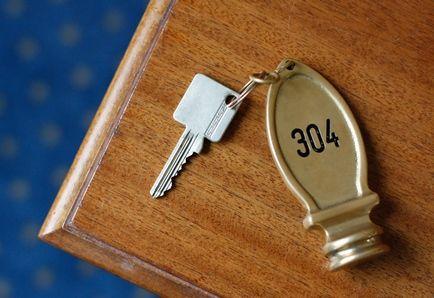 klucz hotelowy