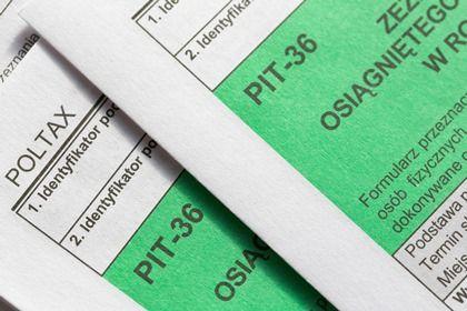 Nowe wzory deklaracji PIT-36, PIT-36L i PIT/BR za 2017 rok