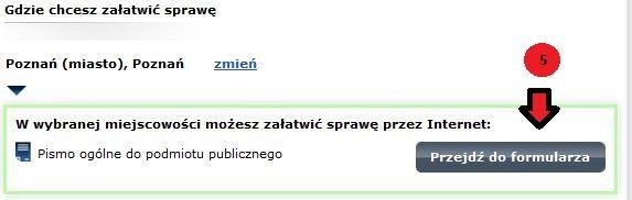 ePUAP formularz