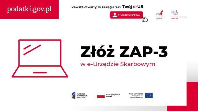 ZAP-3 złożysz przez e-US