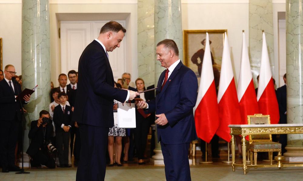 Nowy minister finansów. Marian Banaś zastąpił Teresę Czerwińską