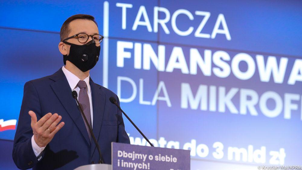 Premier Morawiecki: Przedstawiamy nową Tarczę finansową PFR 2.0