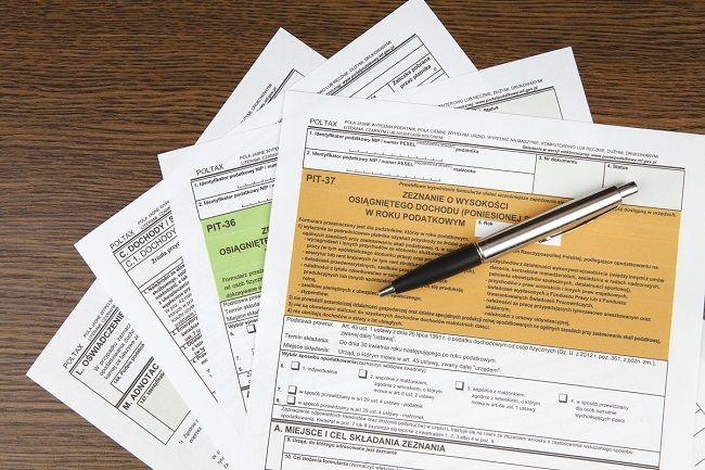 Wzory formularzy PIT - zmiana zasad publikacji
