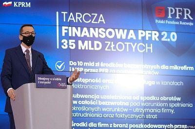 Tarcza PFR 2.0: Przedsiębiorcy mogą już składać wnioski, pomoc może dostać więcej firm