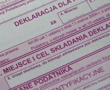 Nowy druk VAT-12 w zakresie usług taksówek