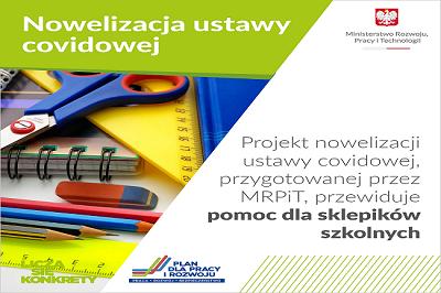 MRPiT: nowe formy wsparcia dla przedsiębiorców w projekcie noweli ustawy covidowej