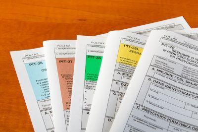 Nowe druki do rozliczeń podatku PIT za 2021 rok w 2022 roku