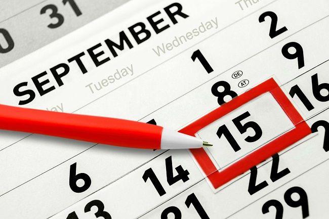 Podatki, które należy opłacić do 15 września 2021