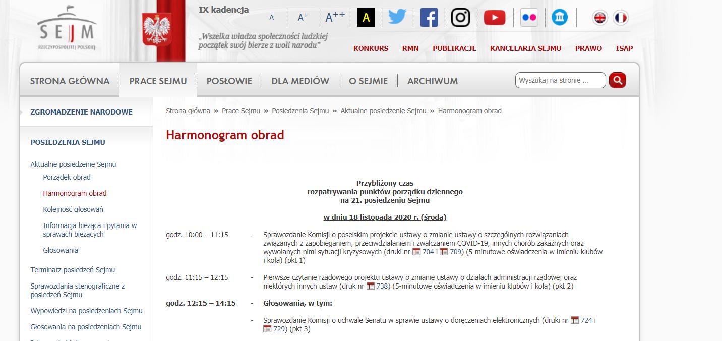 Prace nad Tarczą 6.0 w Sejmie