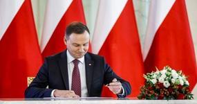 Prezydent podpisał tarczę antykryzysową