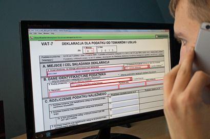 VAT-8, VAT-9M, VAT-10,VAT-11, VAT-12, VAT-23, VAT-26 bez epodpisu