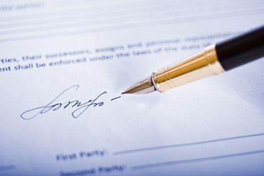 Próby podpisu sprawozdania po terminie