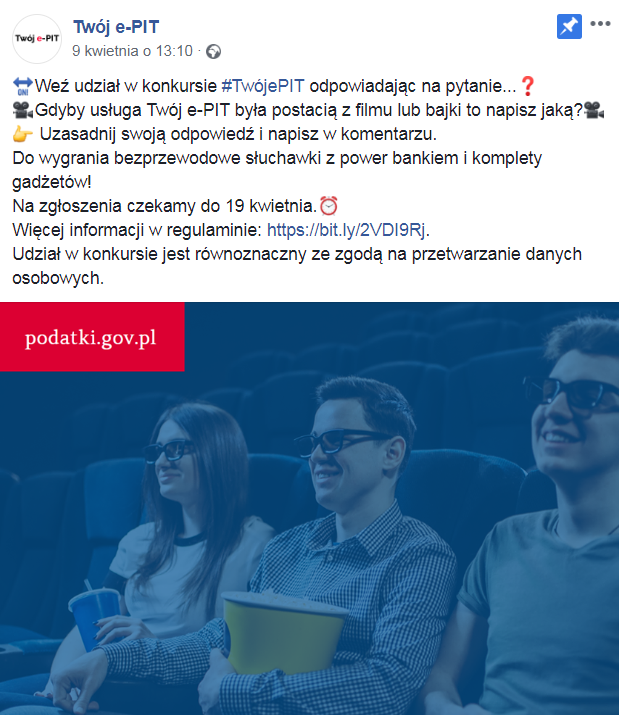 konkurs na bohatera usługi Twój e-PIT