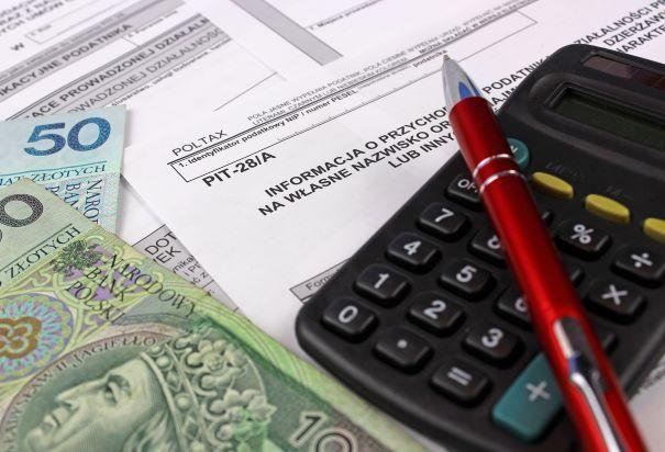 Zapłata podatku wryczałcie ewidencjonowanym