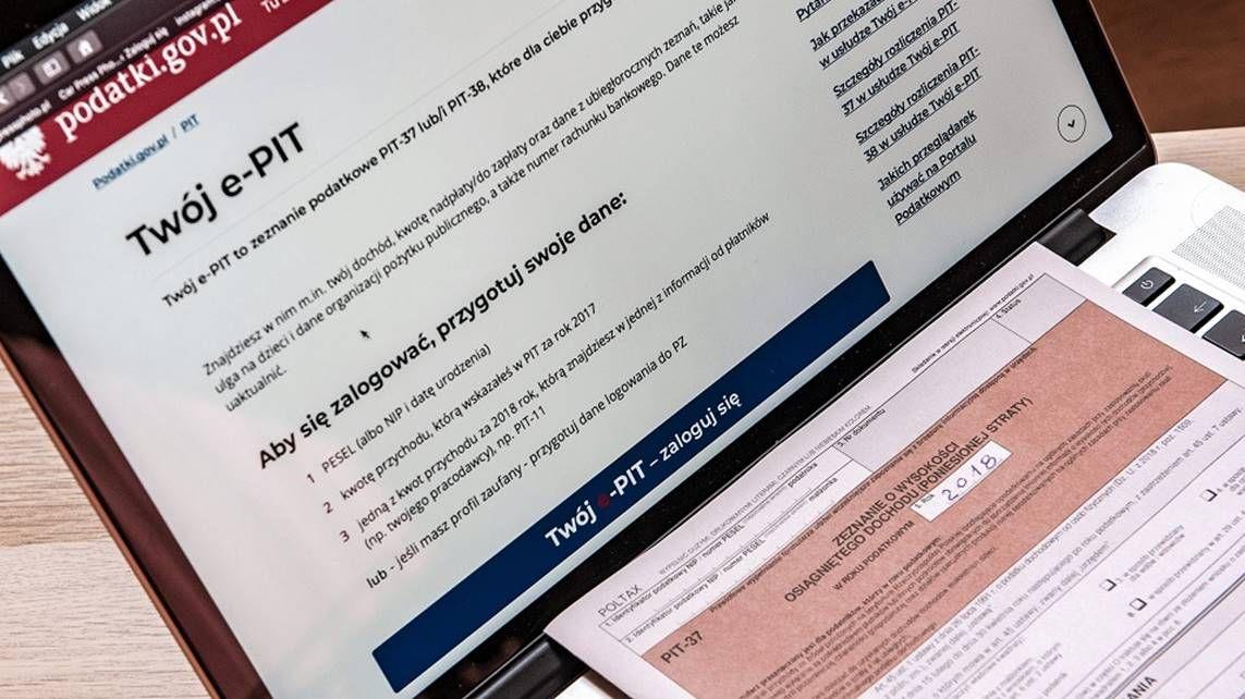 Milion więcej Polaków rozliczyło się w Twój e-PIT