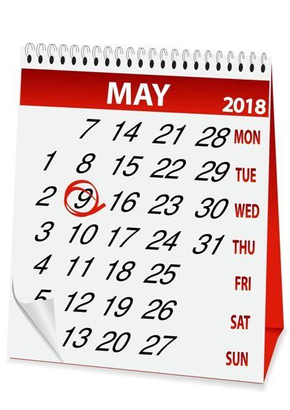Wymiar czasu pracy w maju 2018 roku