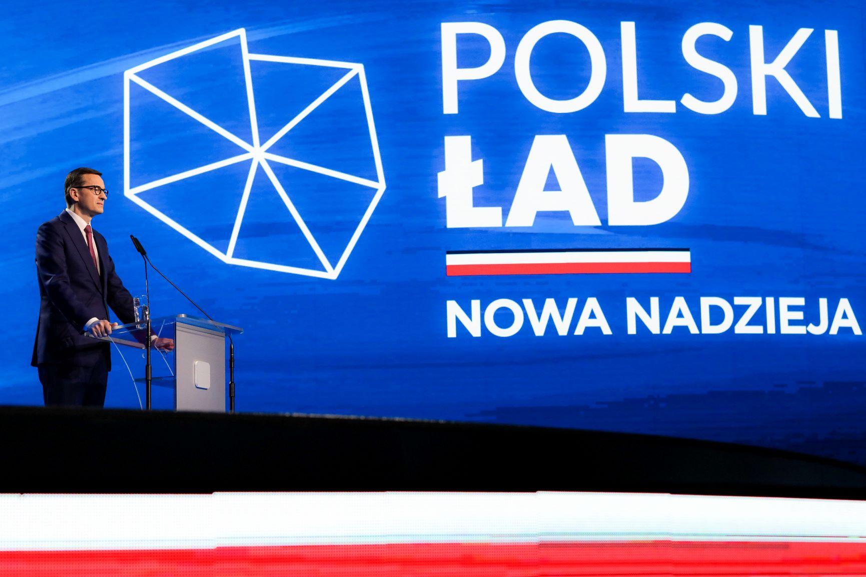 Premier Mateusz Morawiecki Polski Ład