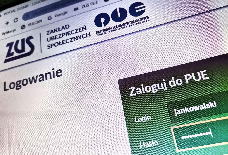 Informacje o zadłużeniu w ZUS na koncie płatnika na PUE ZUS